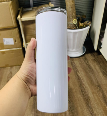 Unbreakable Slim 20oz Double walled Stainless steel Water beer coffee Skinny DIY Sublimation tumbler For printing