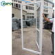 AS2047 PVC Decorative Exterior French Safety Grill Design Door Price