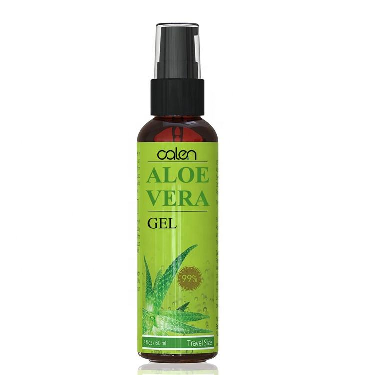 Private label aloe vera gel for moisturizer face for oily skin