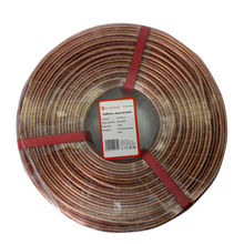 Speaker (acoustic) cable OFC 2*1.5mm2 oxygen-free copper 100m/roll  Wires Cables Cable Assemblies Electrical Wires