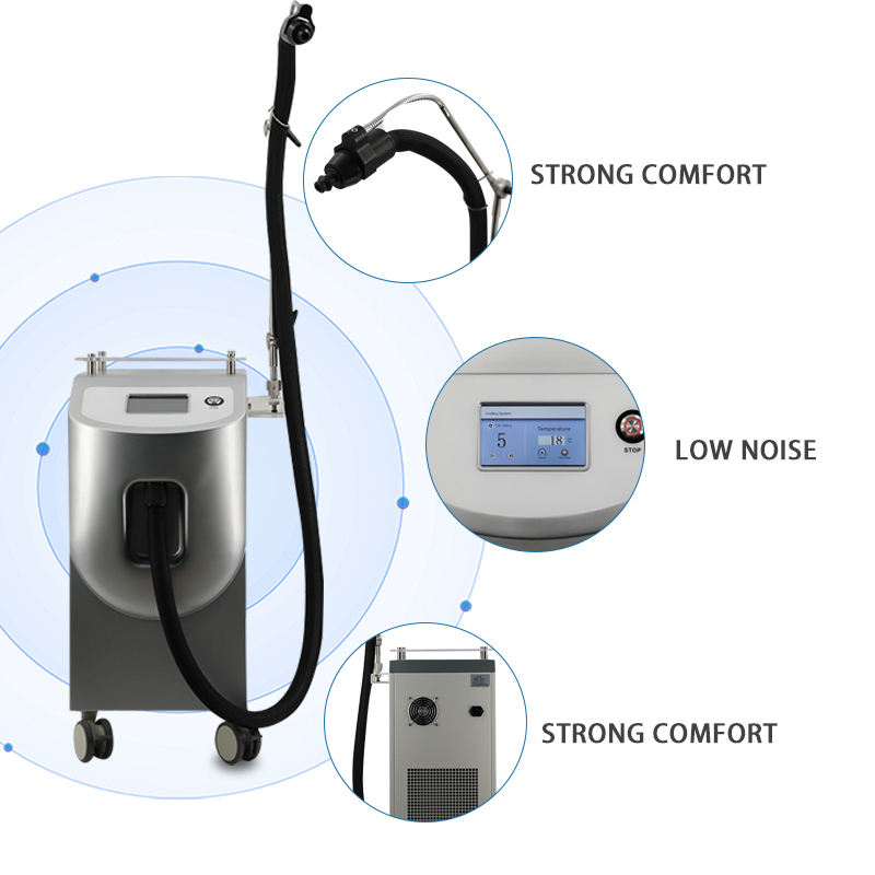 -30C Zimmer Laser Skin Cooler Reduce Pain Air Cooling Device Cryo 6 Cold Skin Cooling Machine Cryo Therapy Skin Cooler Machine