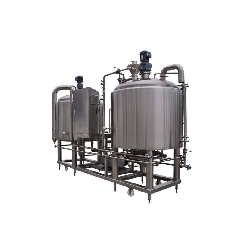Commercial 1000l materials craft beer brewing equipment with stainless steel tank