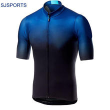 New Short Sleeve Cycling Shirt and Bibshort Bike Bicycle Clothes Team Racing Clothing Custom Cycling Jersey