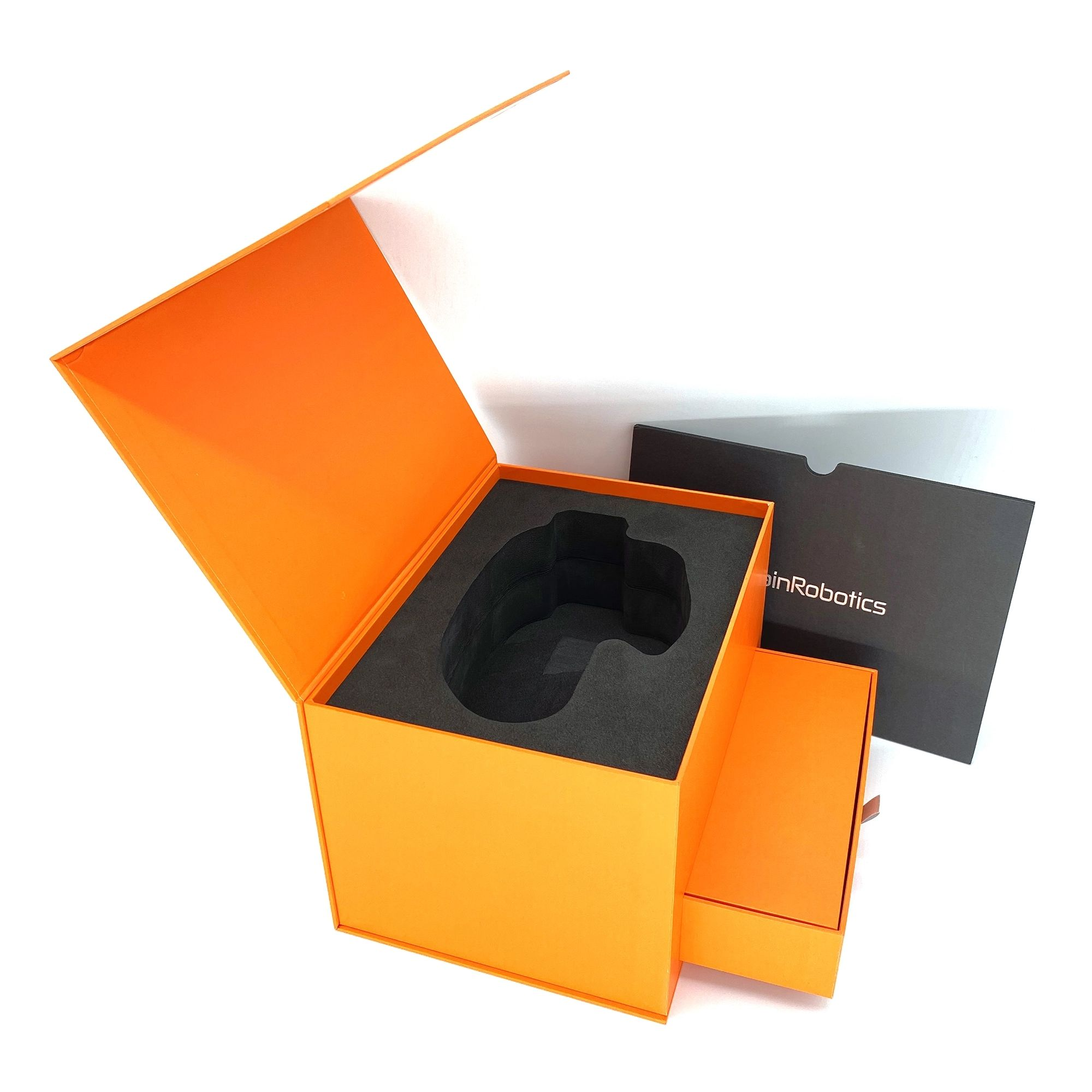 custom luxury prosthesis packaging gift large cardboard box with magnetic closure and EVA foam
