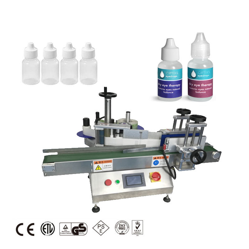 Wholesale Price Tabletop Small Vial Sticker Automatic Round Bottle Labeling Machine Price