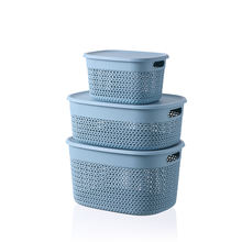 high quality PP cloth storage plastic laundry basket