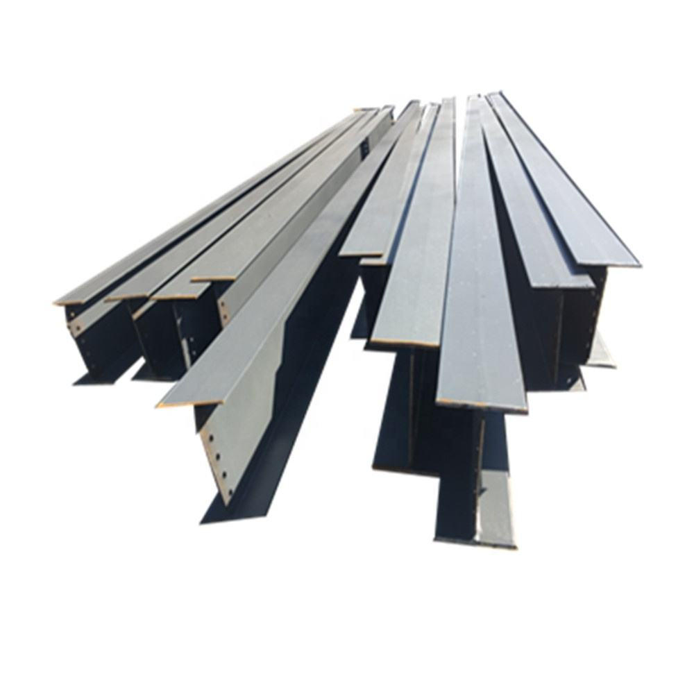 China wholesale new building construction materials l shaped steel beam for small steel frame house