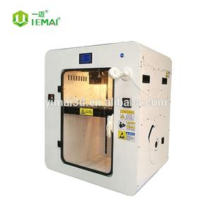 Precision high temperature peek printer filament 3D printing machine impressora 3d peek dual nozzle 3d printer