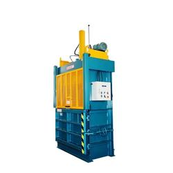 CE ISO Hydraulic Vertical baling machine forpressing die cutting leftover compactor compress waste paper