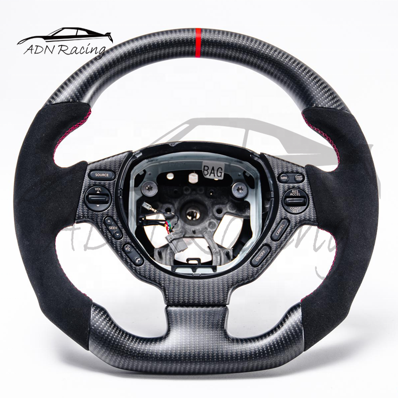 2009-2016 For NISSAN R35 GTR Upgraded DRY Carbon Fiber Steering Wheel