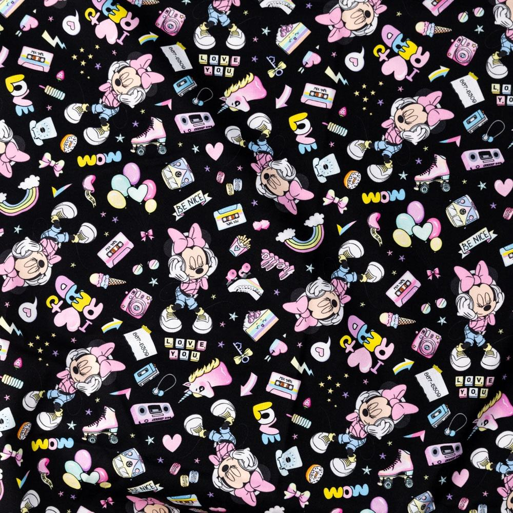 Bedding [ Fabric ] Printed Oeko Tex 100 Textile Manufacturer Pretty Soft And Smooth Cartoon Mouse Custom Cotton Woven Twill Fabric Printing