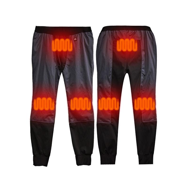 Dr. ấm mens ngoài trời mặc <span class=keywords><strong>pin</strong></span> có thể sạc lại săn bắn trượt tuyết quần nước nóng quần