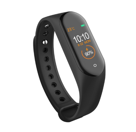 M4 Bande Intelligente Montre Intelligente Fitness Bracelet Moniteur De Fréquence Cardiaque Pression Artérielle Bracelet Intelligent usb charge mi Band 1