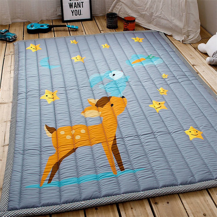 Anti-slip baby climbing mat children's play carpet thicken baby crawling mat bedroom floor baby play mat