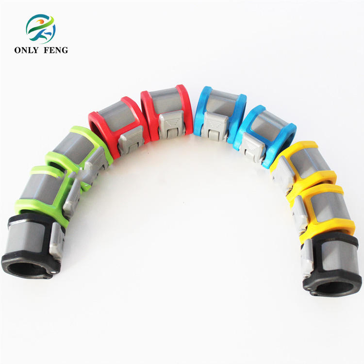 Professional manufacture 1''High quality Weightlifting Rubber Coated Barbell Collar