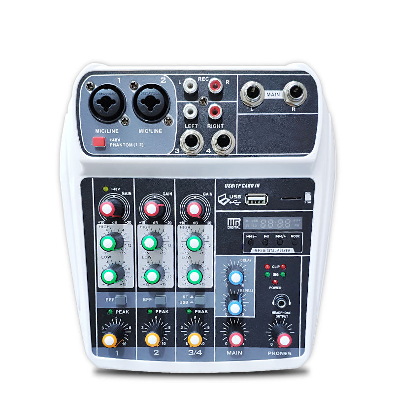 Wholesale Portable Studio Monitor Speaker Mini mixers sound cards