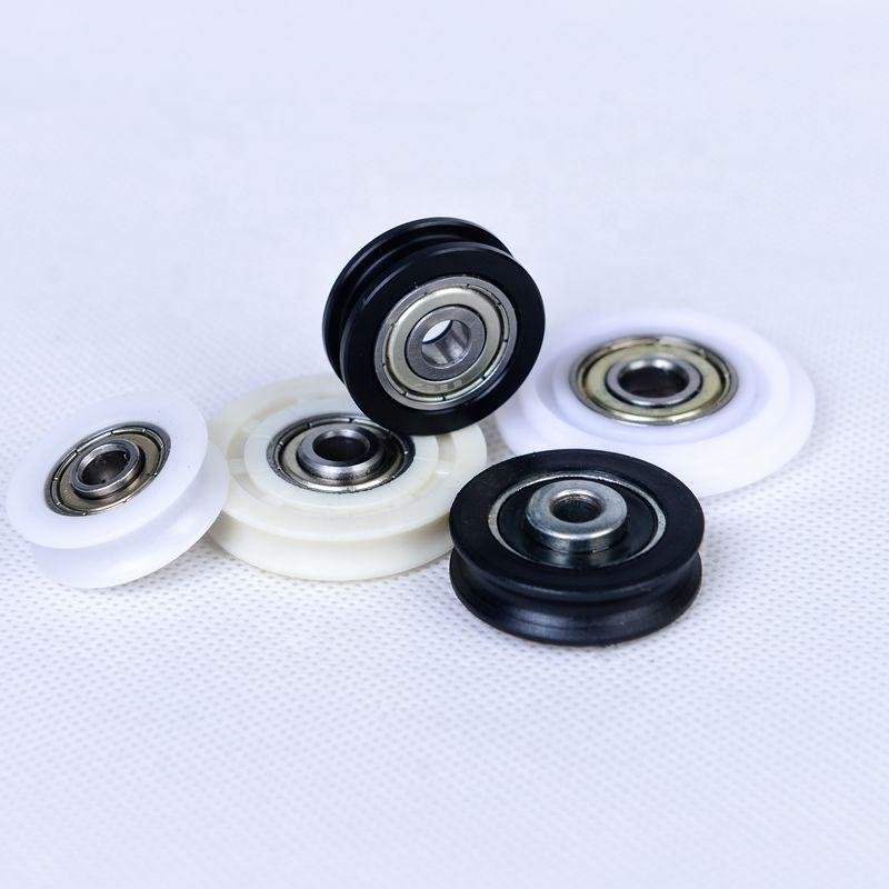 608zz bearing nylon guide plastic roller wheel sliding window roller bearing