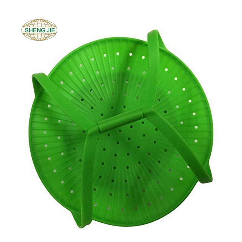 Amazon silicone mesh vegetable steamer basket for Pot Pressure Cooker