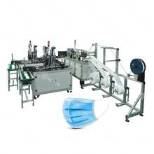 High-speed Fully Automatic Plane Ear-band Nonwoven Disposable Face Mask Making Machine