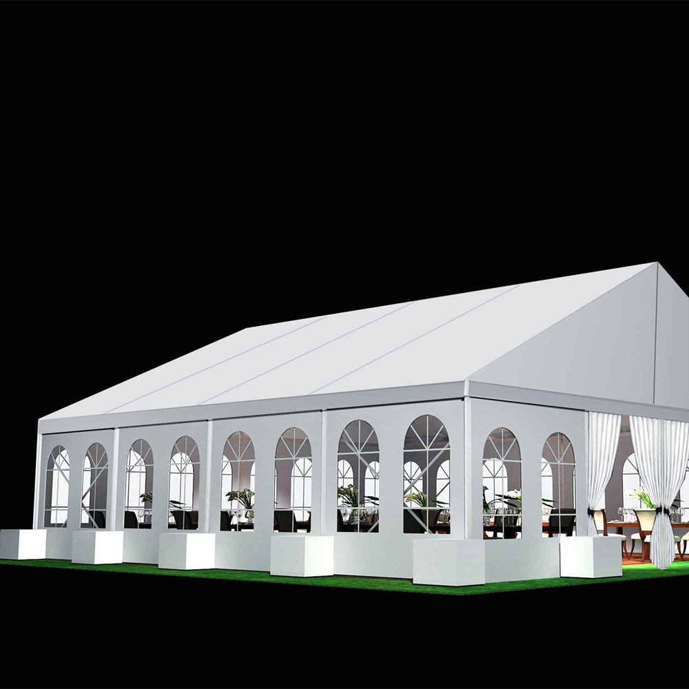 Customizable Wedding Tents In A Variety Of Shapes And Colors For Outdoor Parties