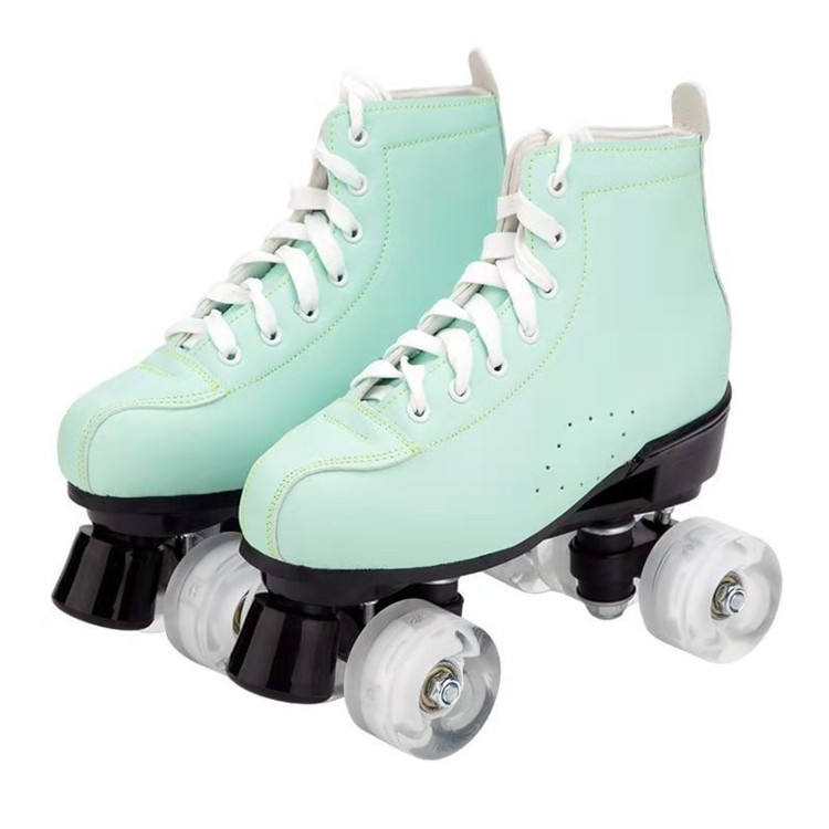 QISHENG TRADE Double Row Roller Skates Roller Skates Womens Traditional Roller Shoes