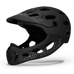 CAIRBULL ALLCROSS Adults Full Face All Mountain Bike Helmet Enduro MTB Bicycle Helmet Removable Chin Bar CE CPSC Certified