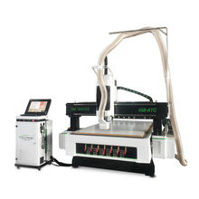4x8ft cnc wood router machine 1325 atc cnc router mdf cutting kitchen cabinet furniture making machine price