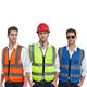 Free Custom Logo Cheap Safety Reflective Vest Traffic Riding Motorbike Security Guard Police Vest/Chaleco with Pockets