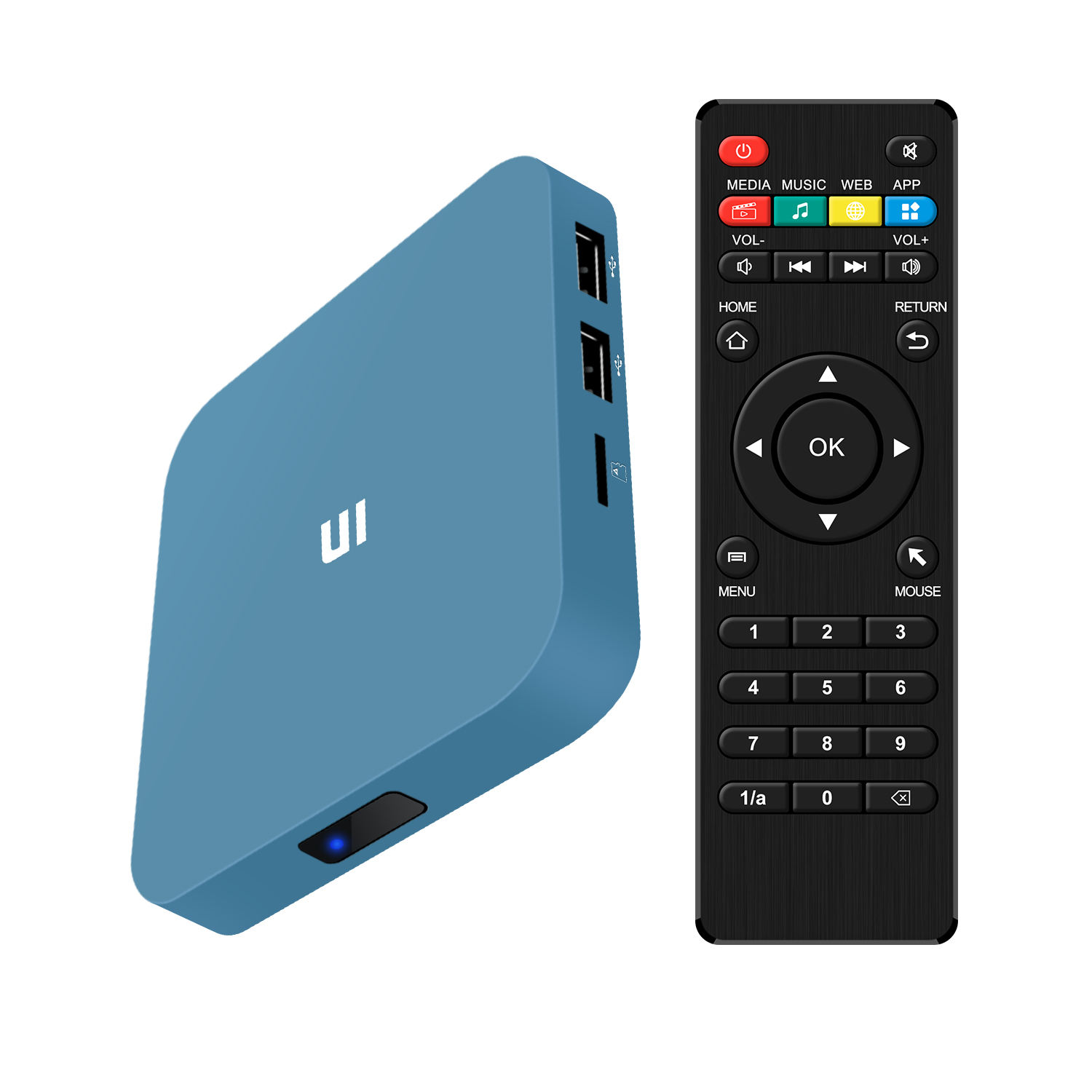 Cheapest Rk3229 2Gb Ram 16Gb Rom Quad Core Android tv box 9.1 4K Original Kodi Ott Smart Tv Box support iptv