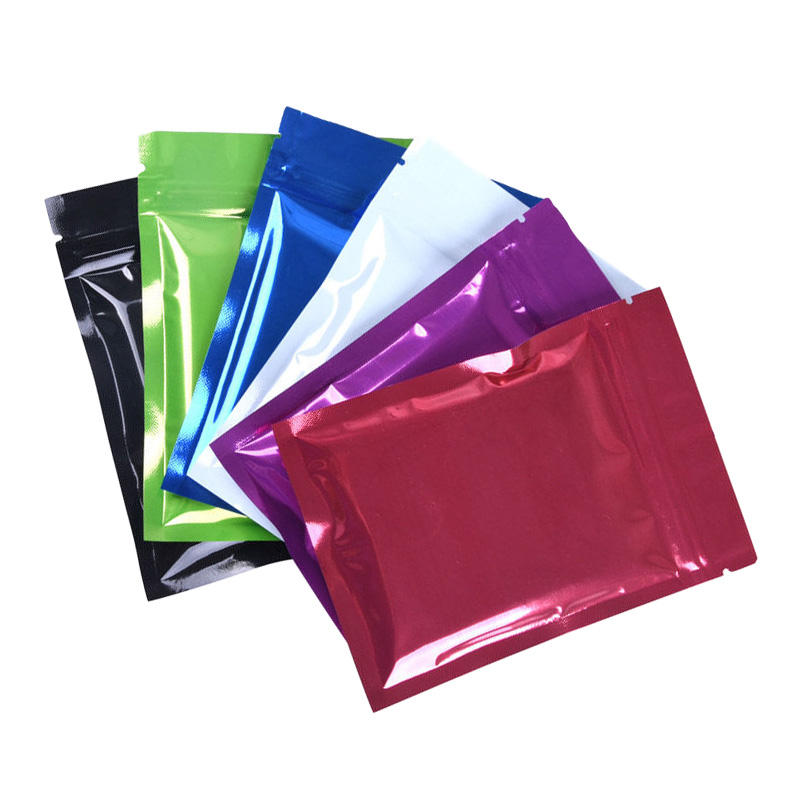 In Stock 7.5x10cm Smell Proof Sachet packets laminated packaging sachet pack aluminum foil tea food packaging bag