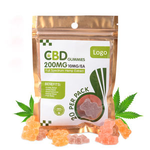 Wholesales 10mg CBD Isolate Gummy Pain Relief And Relax CBD Gummies