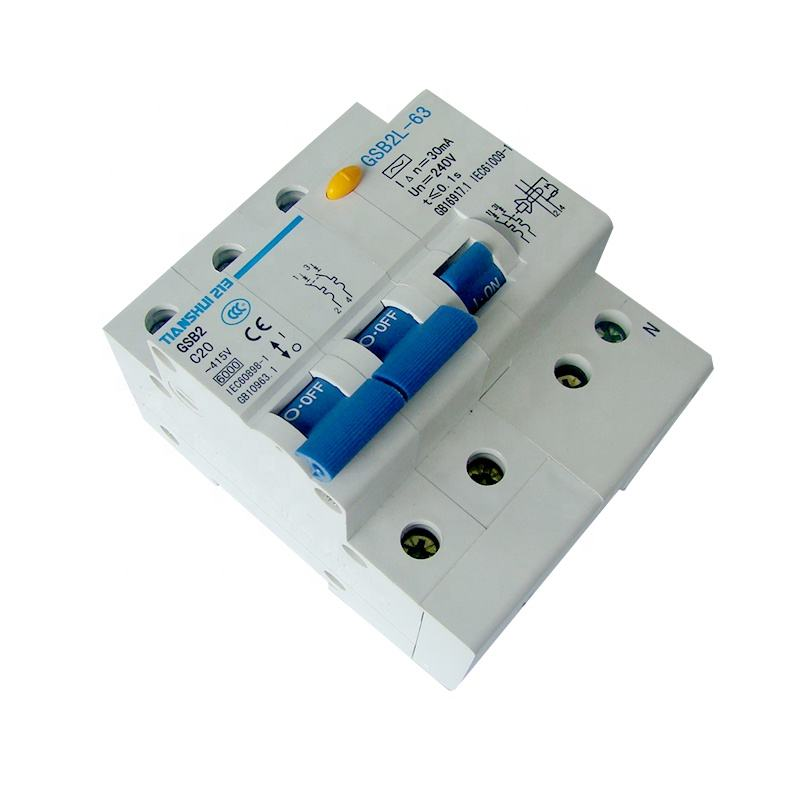 Power Amp Electrical MCB Switch Circuit Breaker Moulded Case Single Phase Type Of Circuit Breaker