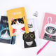 2020 new arrivals hot sale journal cute custom cover cat notebook