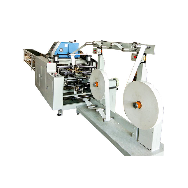 Paper Soft Loop Handle making Machine for shopping bag in package industry