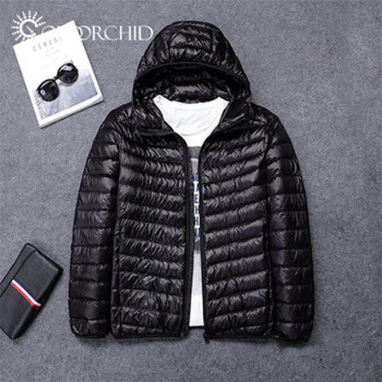 Cheap Prices 100% Nylon Foldable Puffer Padded Down Winter Leather Heating Jackets For Men