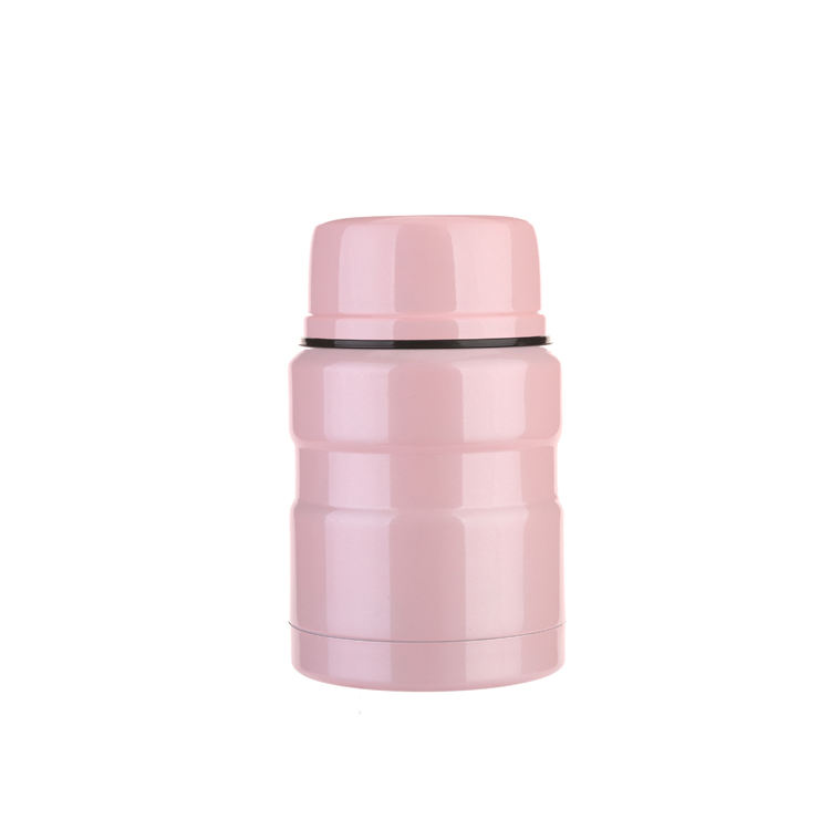 New product eco-friendly hot food flask stainless steel thermos vacuum food flask