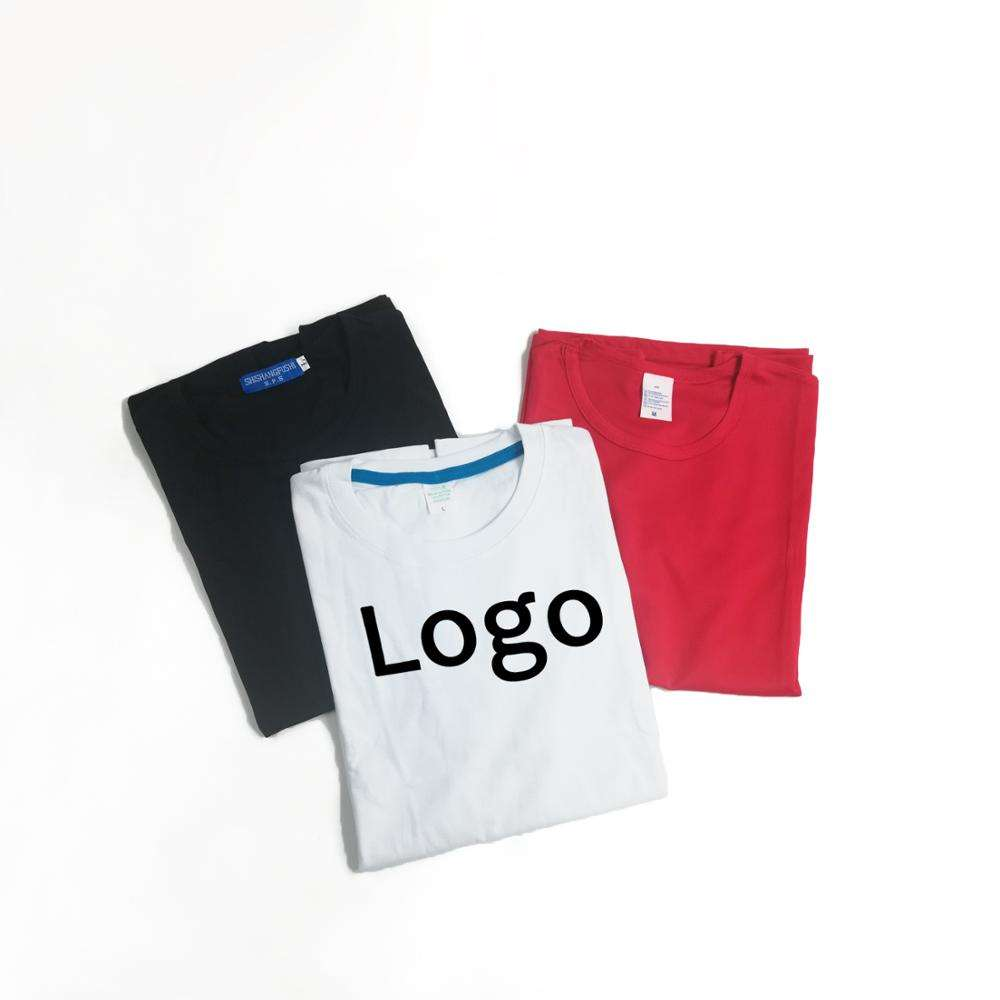 Wholesales Custom Printing Logo Shirt Color Round Neck Blank T-shirts Polyester Sublimation Sport Shirt For Men Short Sleeve