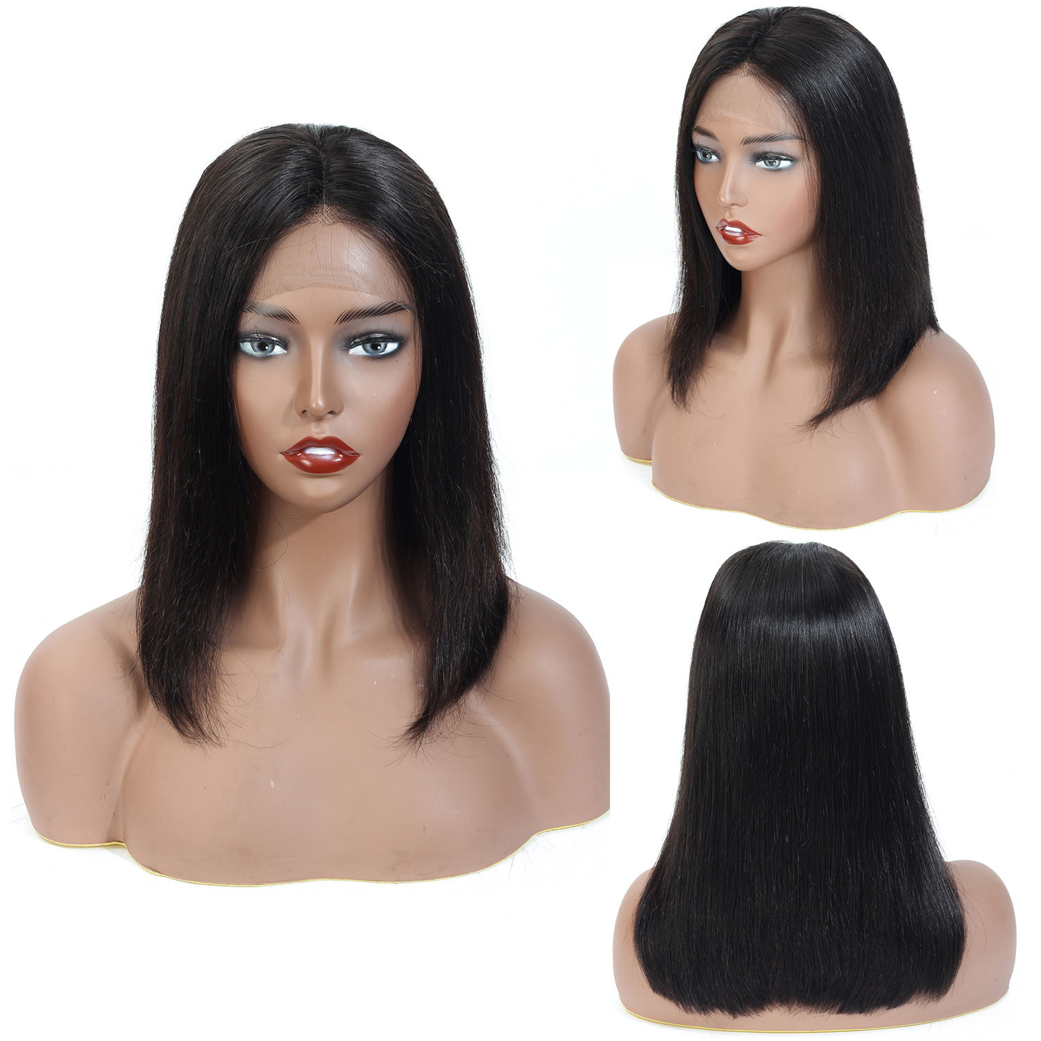 wholesale Full lace wigs 100% mink brazilian hair hd lace front wigs virgin cuticle aligned remy human hair wigs for women