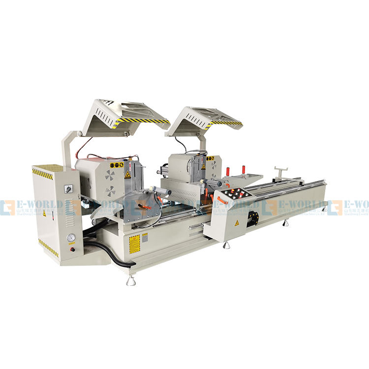 Aluminum Profile Doors Window Double Mitre Cutting Saw Machine