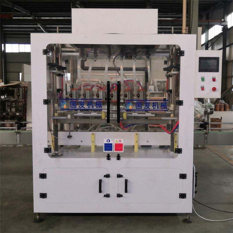 Automatic 4 heads 10ml 30ml glasses cleaner spray bottling line liquid spray filling capping