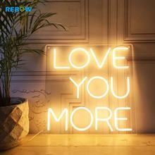 Bulk Drop Shipping Custom Light Letters Words Led Neon Sign OEM Unbreakable High Quality LED Neon Sign