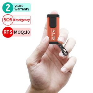ALS Mini-flashlight 60lm Rechargeable LED Keychain light Function SOS Super bright Students Mini flashlight