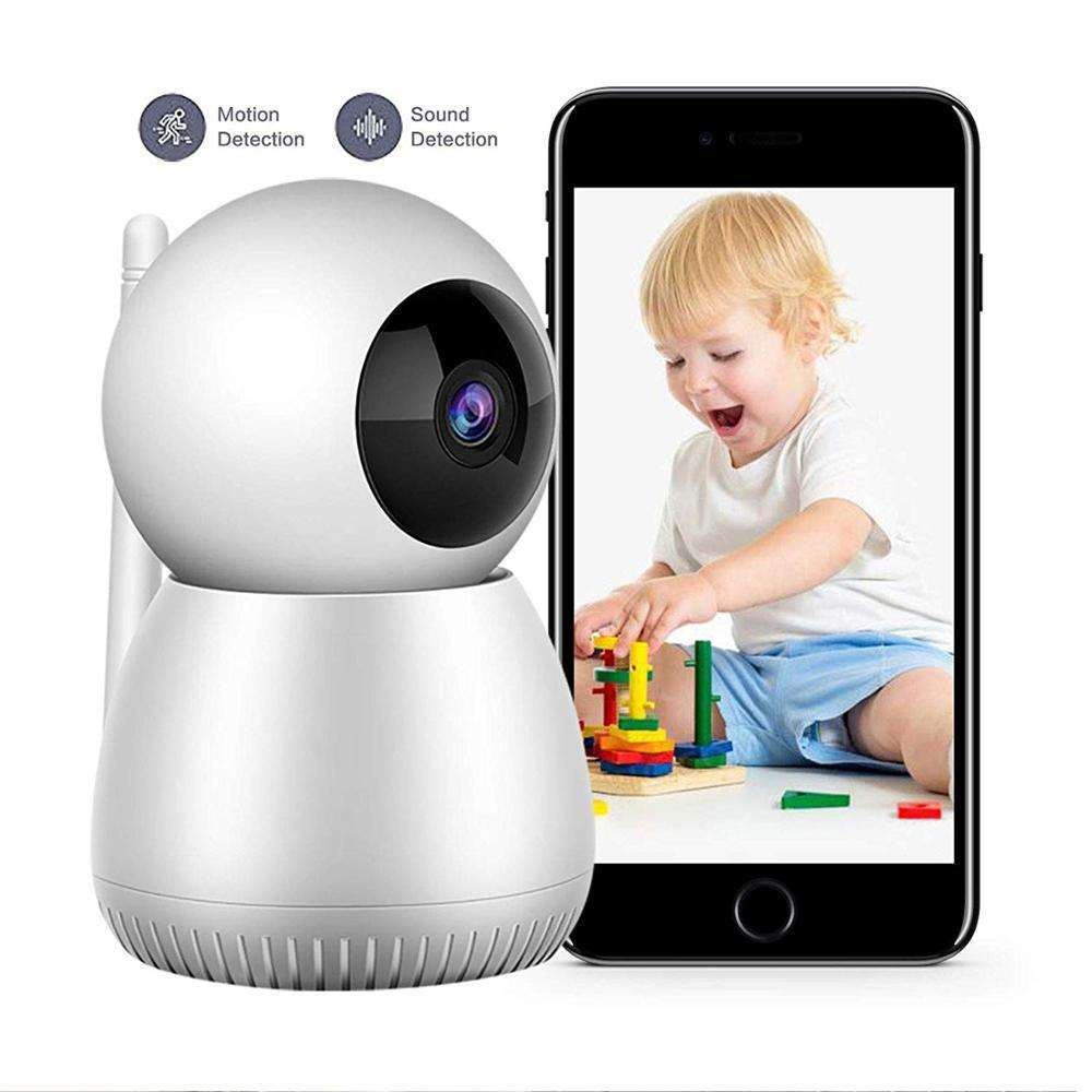 720P 1080P Home WiFi Security cctv Camera with Night Vision 2 Way Audio Cloud Service Baby Monitor