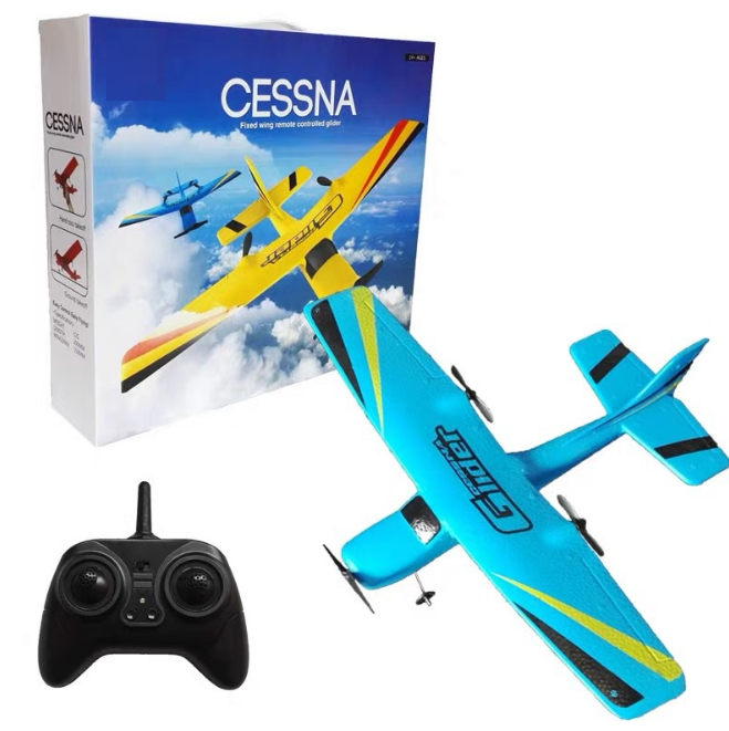 2.4GHz RC Airplane 4WD Control Toy Easy to Fly Glider for Kids Adult Beginners great gifts