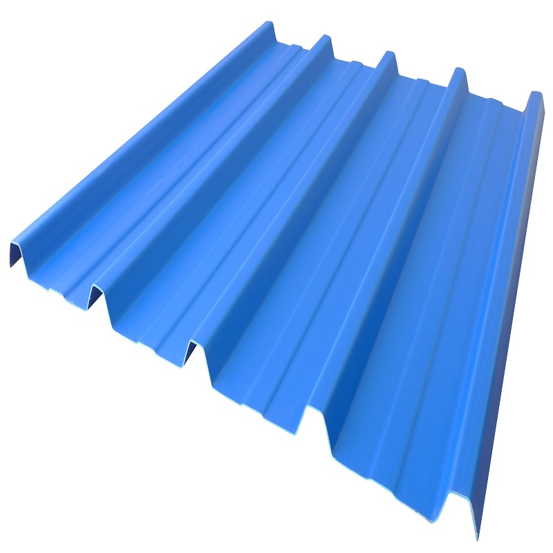 ADTO Tiles for Roof, Building Materials UPVC / PVC Plastic Color Trapezoidal Roof Tiles