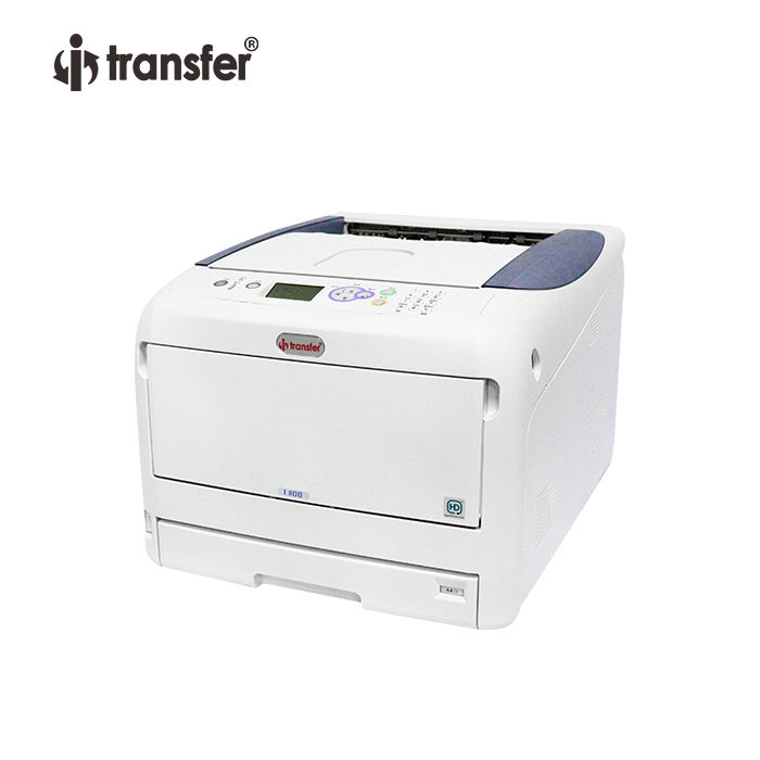 I-Transfer CMYW A3 Kleur Wit Toner Laser Printer I800
