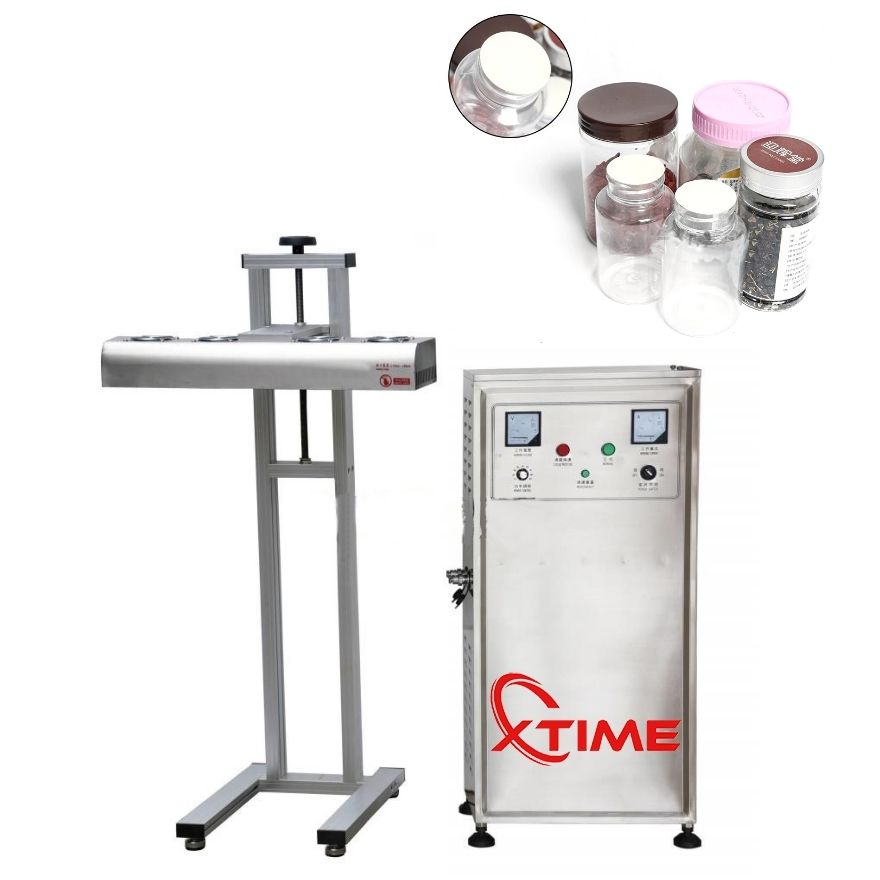 Automatic Continuous Electromagnetic Induction Sealer Aluminum Foil Sealing Machine
