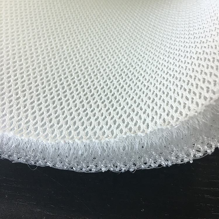 Free sample custom thickness washable 223cm width 3D polyester spacer mesh fabric for mattress