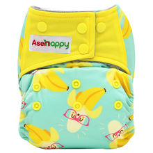 Asenappy Washable and Reusable Baby Cloth Diapers One Size fot all