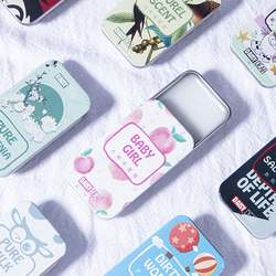 DAISY DEAR oem portable solid perfume women men solid balm balsam parfum solid deodorant fragrance cartoon box